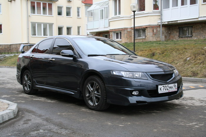 Пороги  Honda Accord VII (2006-2008) MUGEN DM