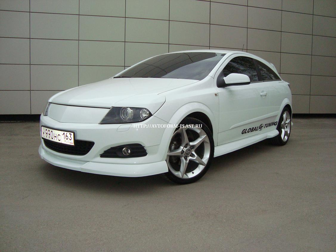 "Реснички Opel Astra ""Global"""
