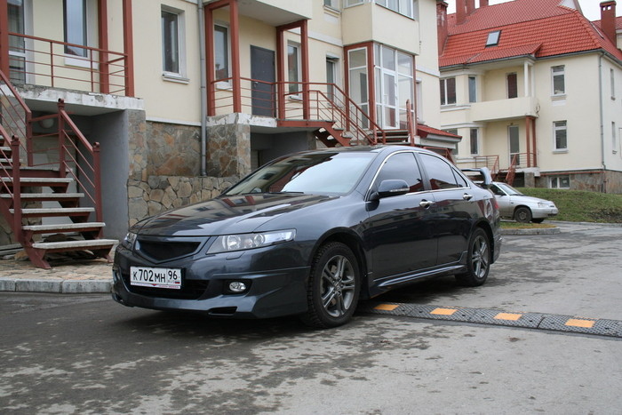 Решетка радиатора Honda Accord VII (2006-2008) MUGEN DM