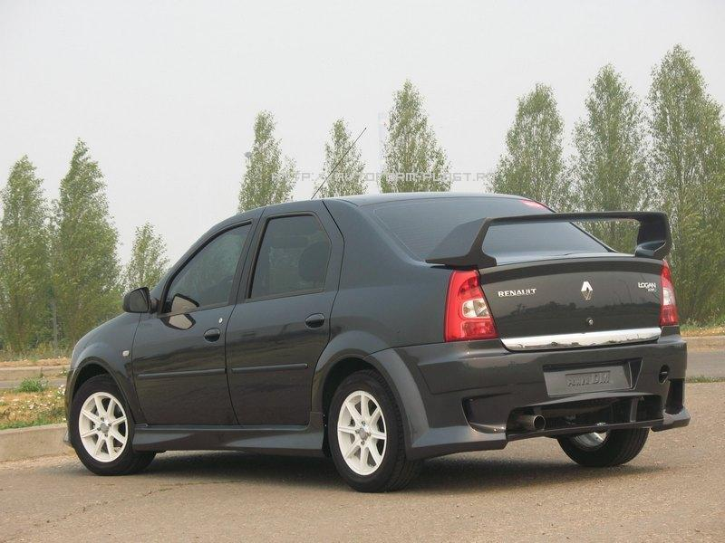 Задний бампер Renault Logan Power DM (фаза 2)