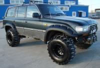 Расширители арок Toyota Land Cruiser 80 (ширина 80 мм)