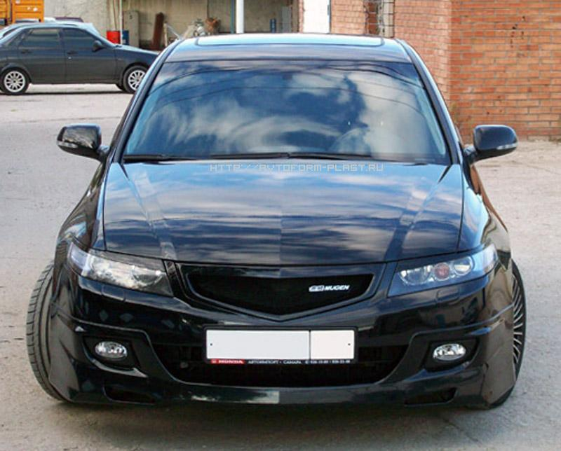 Реснички на фары широкие для HONDA Accord VII(2004-2008)