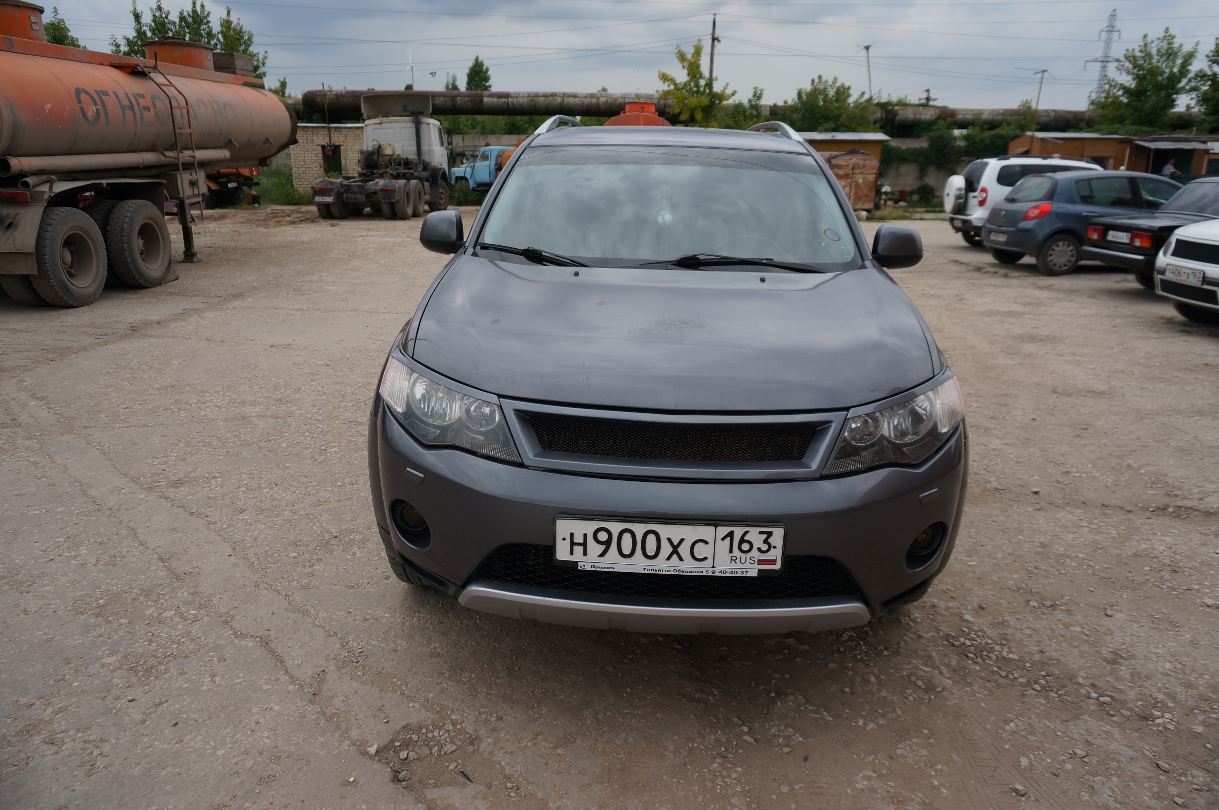 "Решетка радиатора Mitsubishi Outlander (2006-2009) ""Roadest"""